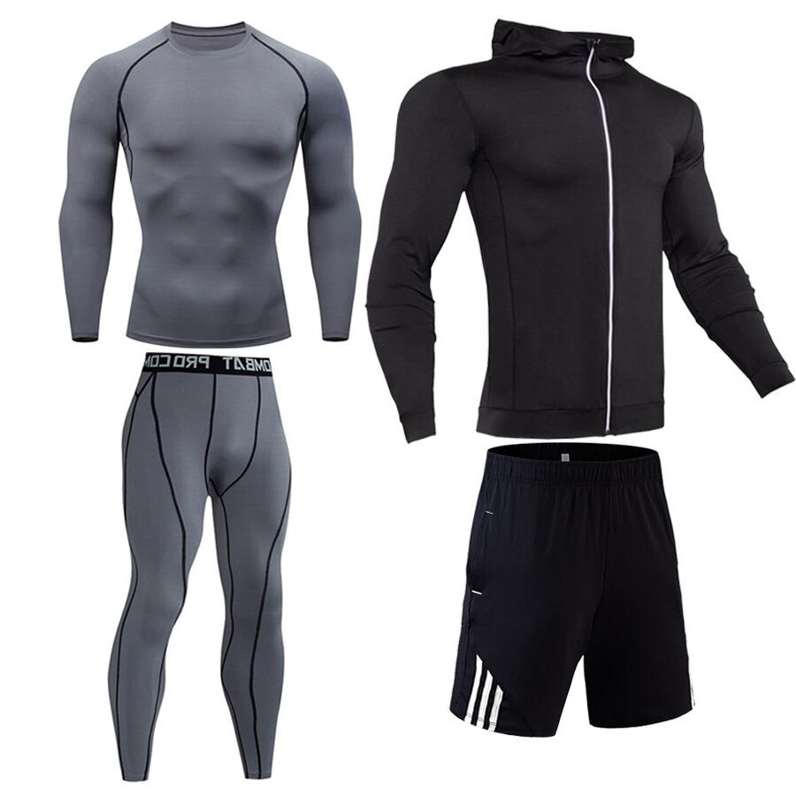 Compression <font><b>cycling</b></font> Gym Outdoor track Running jogging suit S-XXXXL