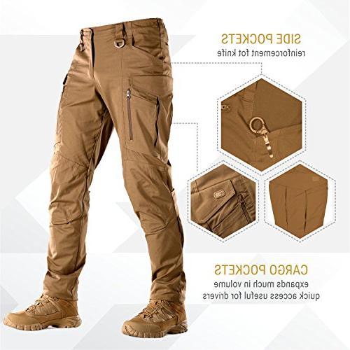 M Tac Conquistador Flex Tactical Pants Men with Cargo