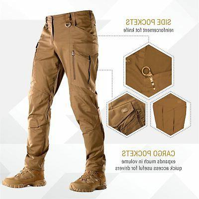 Conquistador Flex Tactical Pants Cargo Pockets