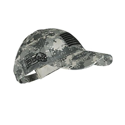 Voodoo Tactical Contractor Baseball Cap w/ Sewn on Flag, ACU
