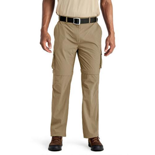 Convertible Men's Zip-Off Hiking Pants Casual Trousers