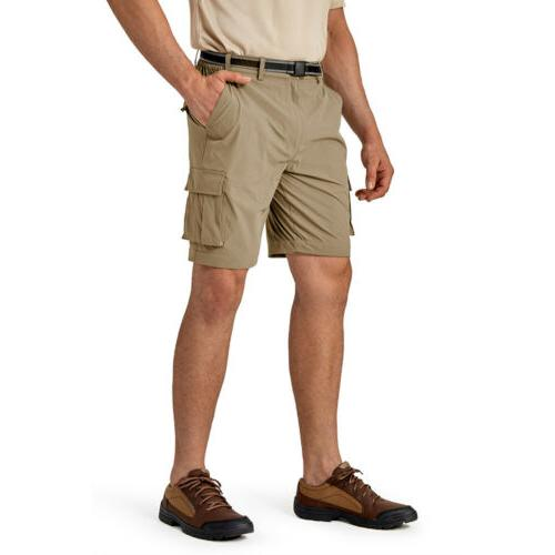 Convertible Zip-Off Shorts Casual Trousers