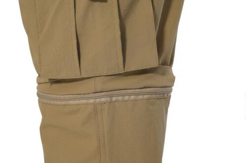 Convertible Men's Zip-Off Casual Trousers
