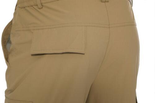 Convertible Men's Quick Drying Zip-Off Hiking Pants Casual Cargo