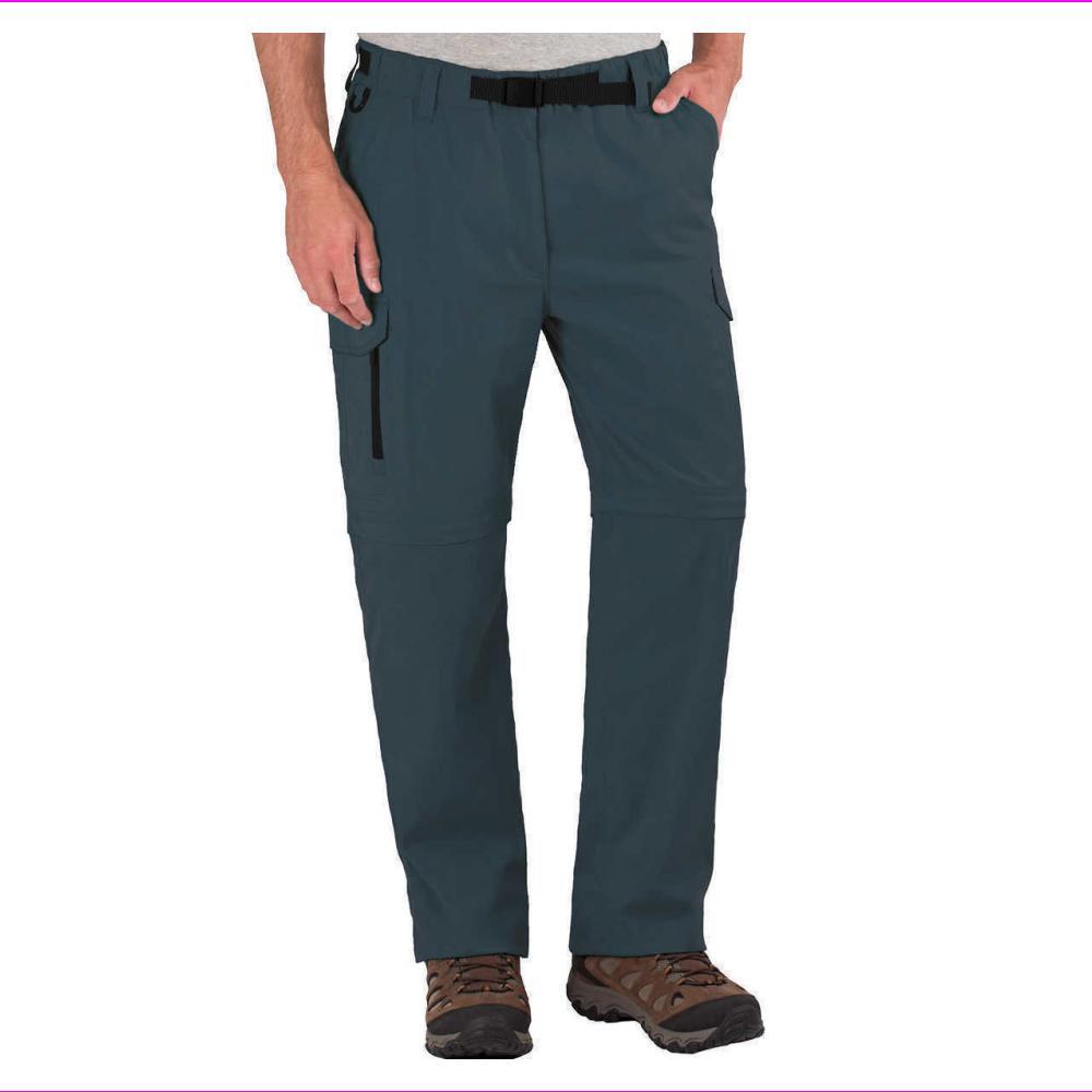 BC Men's Convertible Stretch Pants Shorts,Zippered Pockets