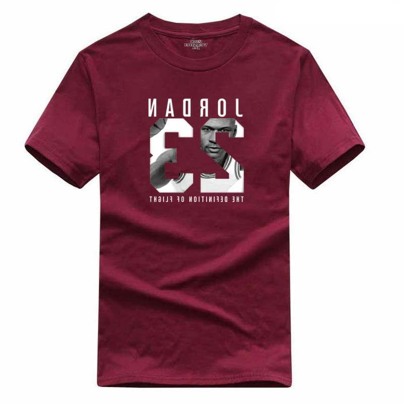Cotton Men Print Men Sports T-shirt Tee