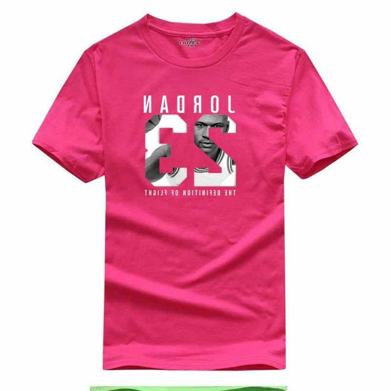 100% Men 23 Print Brand Clothing Men Sports T-shirt Swag