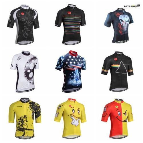 Cycling Jersey 2018 Weimostar Men Bike Jersey Tops MTB Bicyc
