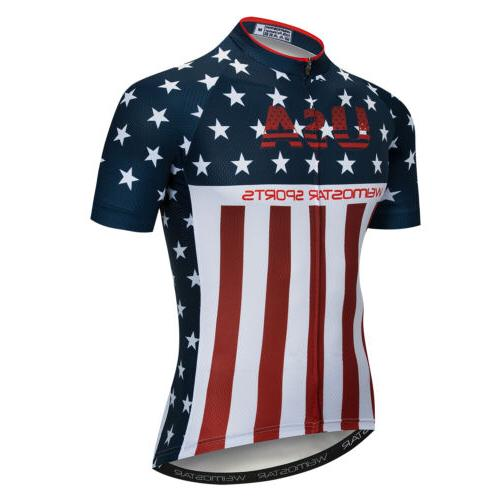 Cycling Jersey MTB Bike Sleeve Shirt Bicycle Tops