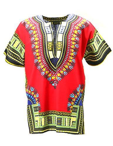 dashiki shirt tribal african caftan boho unisex
