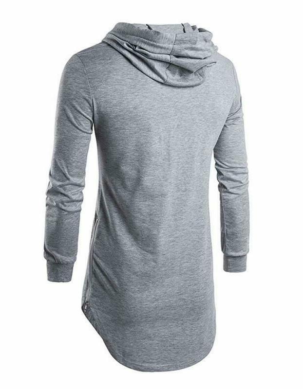 Defal Mens Shirt Pullover Sweatshirt