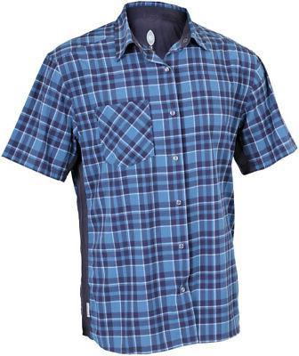 detour men s short sleeve shirt steel