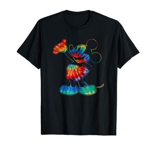 disney mickey mouse tie dye t shirts