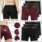 Dual Pouch Underwear Boxer Briefs Small Medium Large Mens Cl