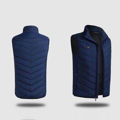Electric Jacket Coat Warm Up Heating Cloth Warmer Men