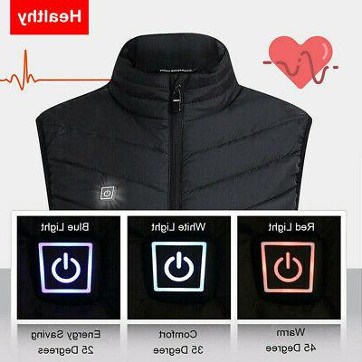 Electric USB Jacket Warm Heating Warmer