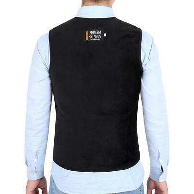 Electric Heated Vest Men Women Heating Coat Jacket Lot
