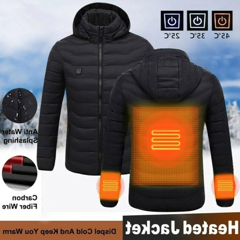 Electric USB Winter Coat Jacket
