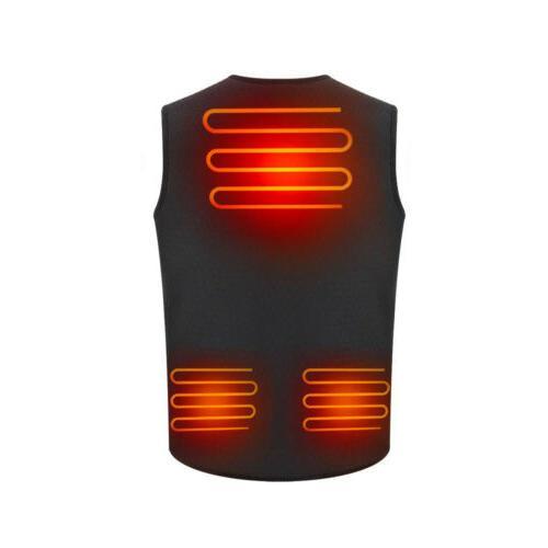 Electric USB Winter Warm Men Heating Clothing