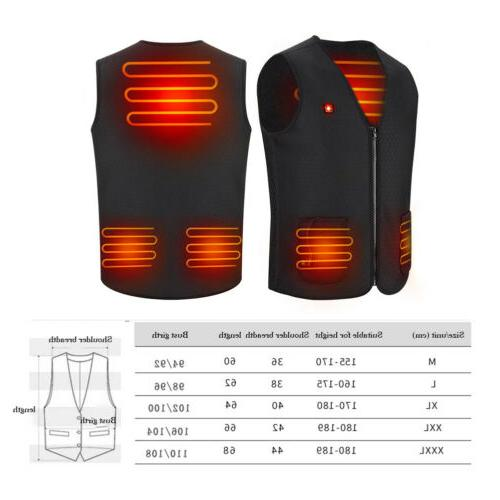 Electric Winter Warm Heating Jacket