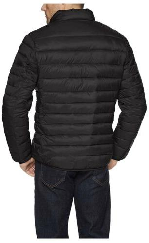 Amazon Water-Resistant Packable Puffer Jacket, L