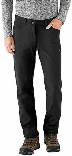 BC Clothing Expedition Mens Black Softshell Pants Fleece Lin