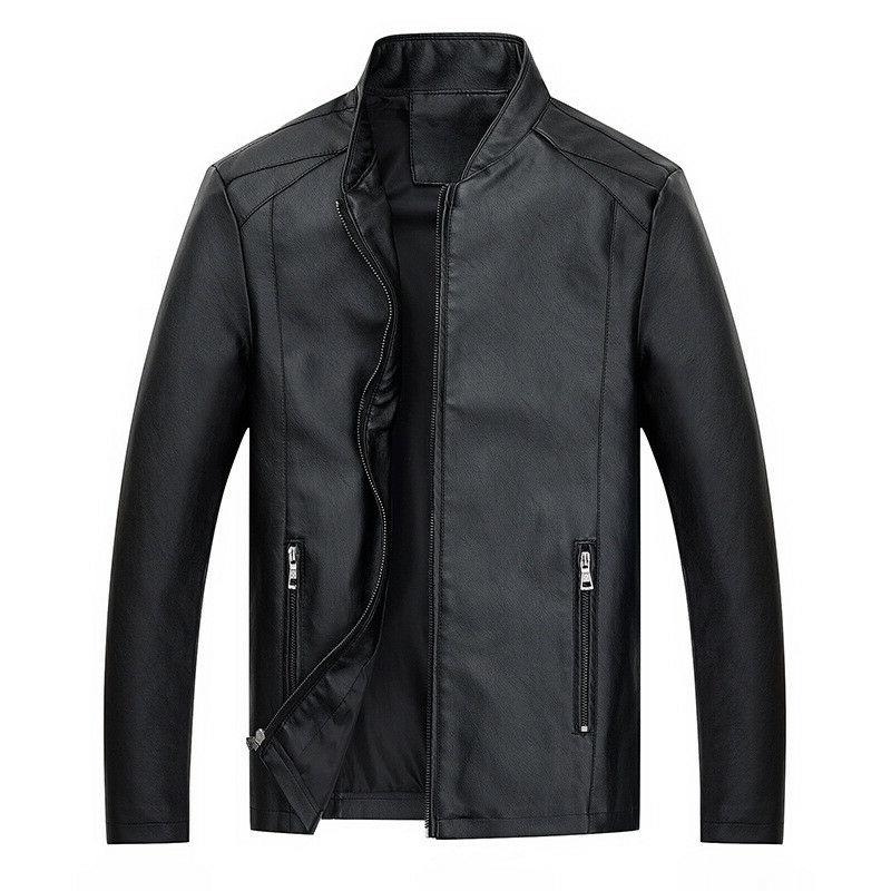 Fashion Leather Jacket Autumn Handsome Youth Clothes