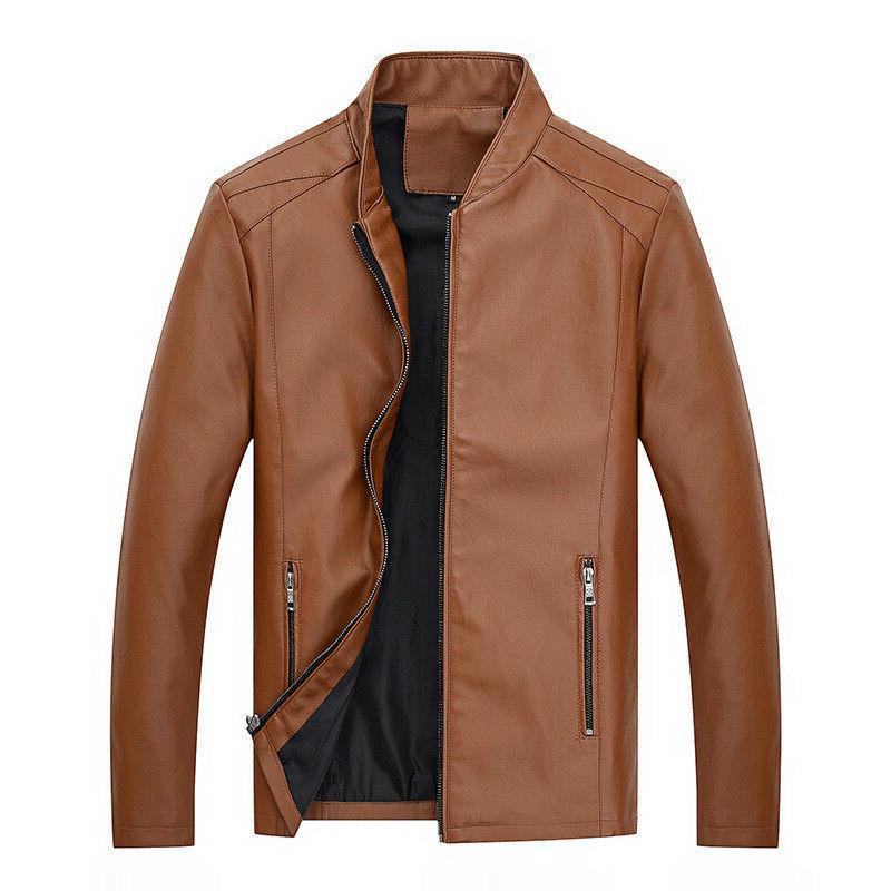 Fashion Autumn Handsome Coat Slim Youth Clothes Men's