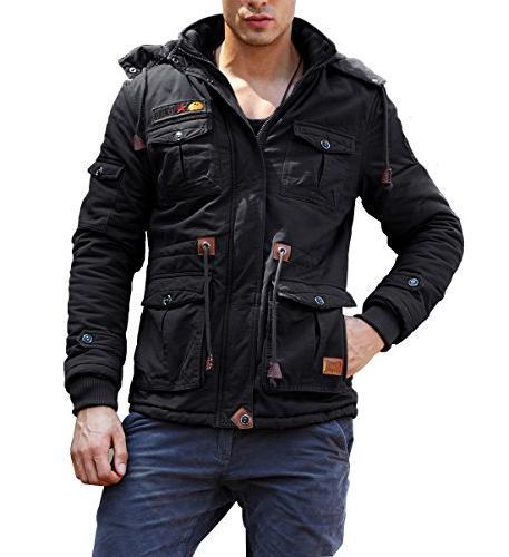 CRYSULLY Outdoor Windbreaker Jackets S/TagXL