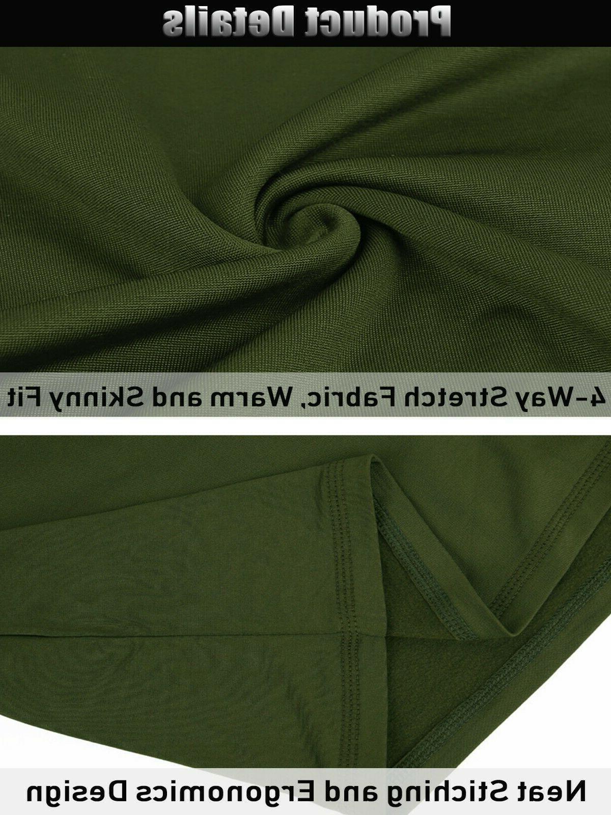 TACVASEN Fleece Underwear Set Winter