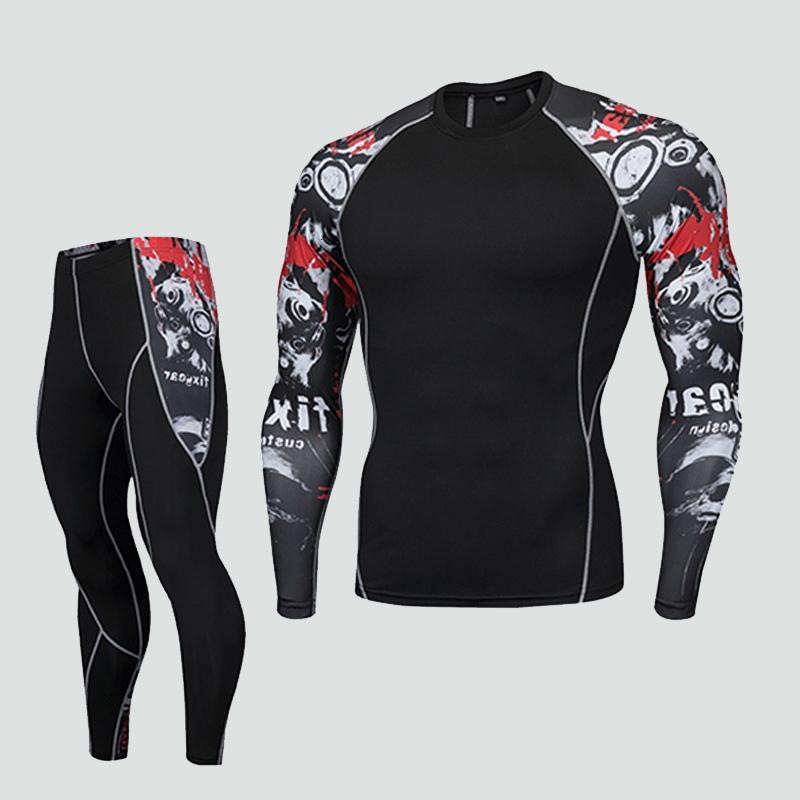 <font><b>Men's</b></font> Fitness compression long sleeve <font><b>men</b></font> brand gard MMA muscle tights <font><b>men's</b></font>