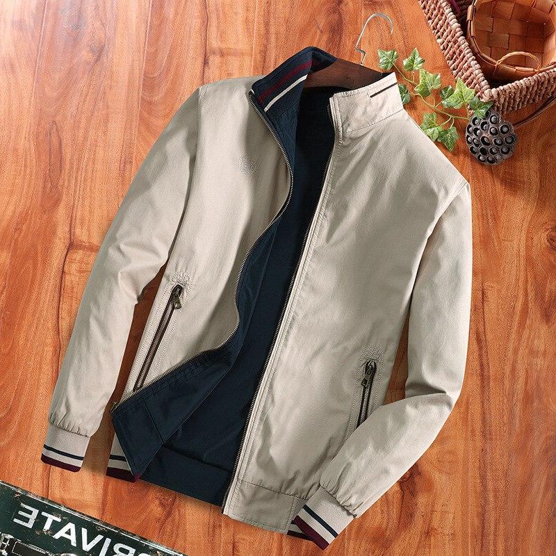 DIMUSI <font><b>Spring</b></font> <font><b>Mens</b></font> Bomber <font><b>Jackets</b></font> Fashion Windbreaker Collar Clothing