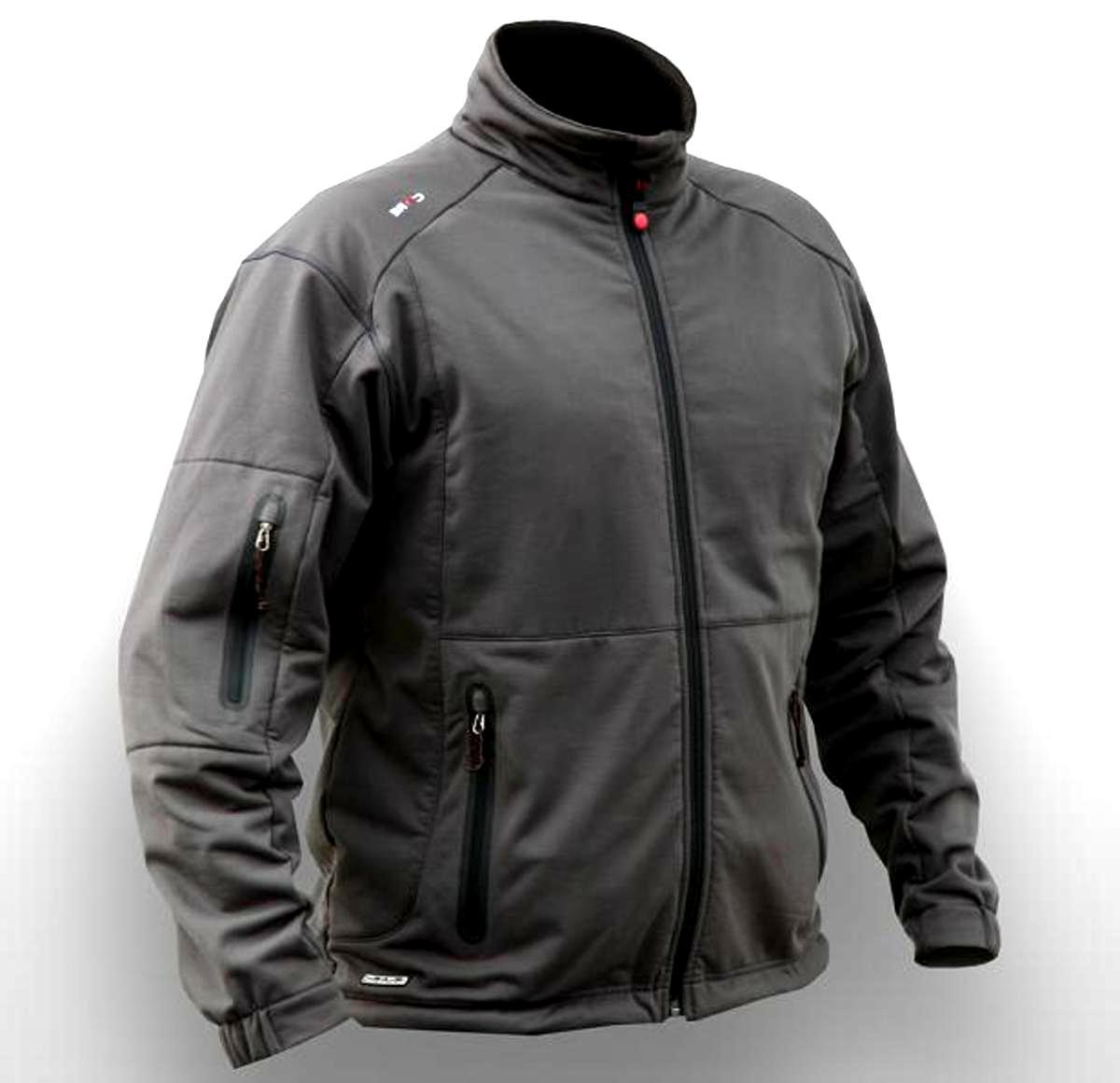 Gerbing Heated Clothing Soft Shell 7V Men's Black Jacket Size MEDIUM