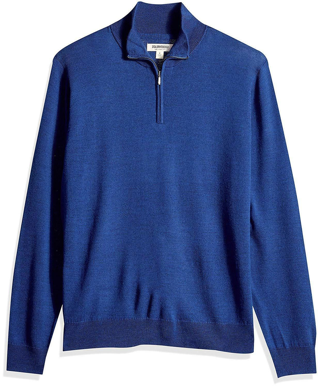 Goodthreads Merino Quarter Sweater