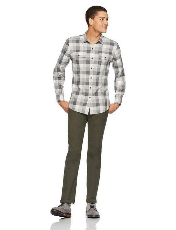 Goodthreads Men's Standard-Fit Plaid Shirt