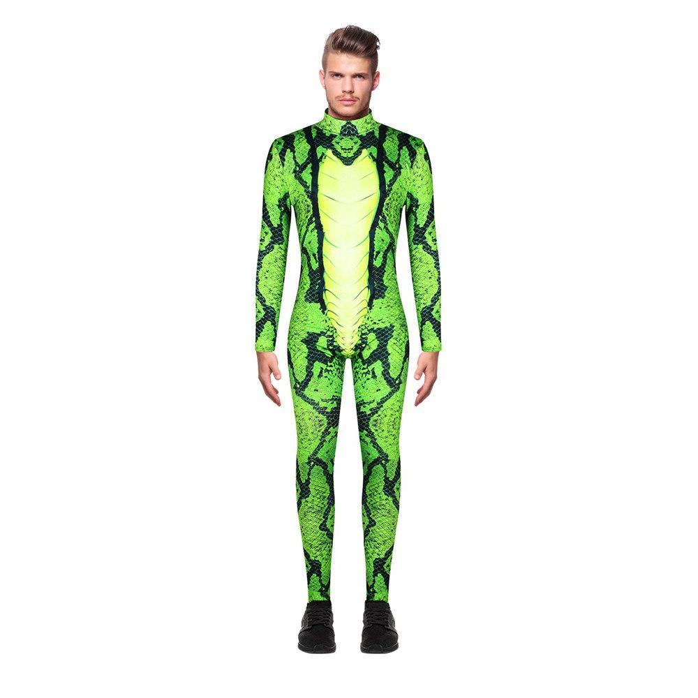 Green 3d <font><b>Designer</b></font> <font><b>Clothing</b></font> Halloween Costumes <font><b>Mens</b></font> <font><b>Fashion</b></font>