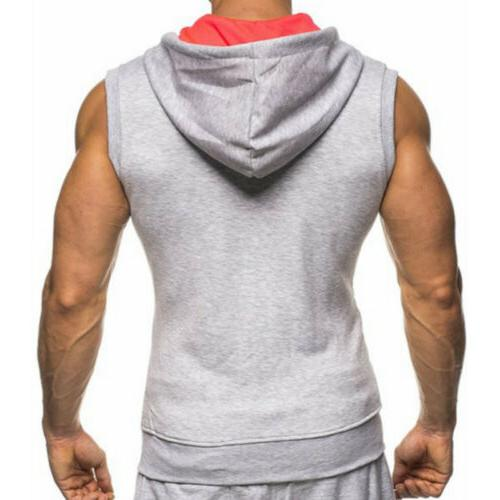 Gym Sleeveless Vest Bodybuilding Tank Top Muscle Clothing T-Shirts