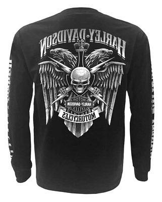 Harley-Davidson Skull Crest Graphic Shirt,