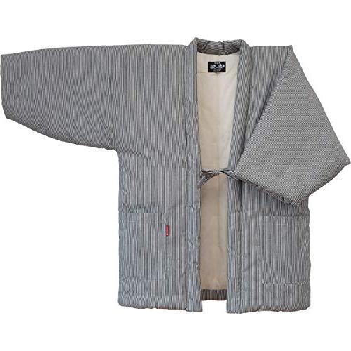 Hickory Stripe HANTEN made Kimono-style Men's