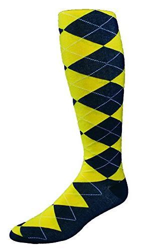 highlands argyle golf sock