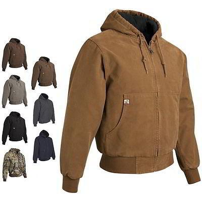 hooded boulder cloth mens winter jacket