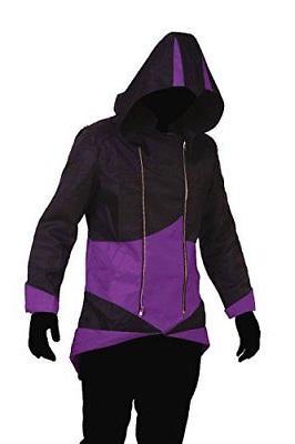 Cos2be Jacket Black&Purple,Men-L