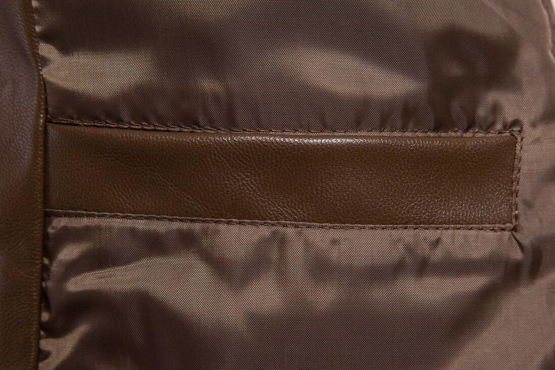 Hot Leather Clothing Back Slit Top