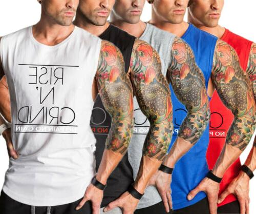 Hot Vest Top Muscle Clothing Stringer US