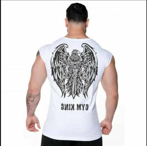 Hot Bodybuilding Vest Top Clothing Sport US