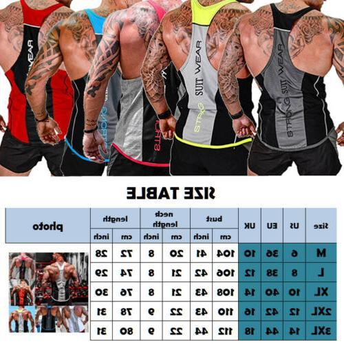 HOT!Men's Bodybuilding Top Y-Back