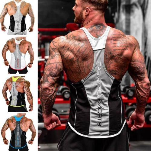 HOT!Men's Bodybuilding Top Workout Clothes