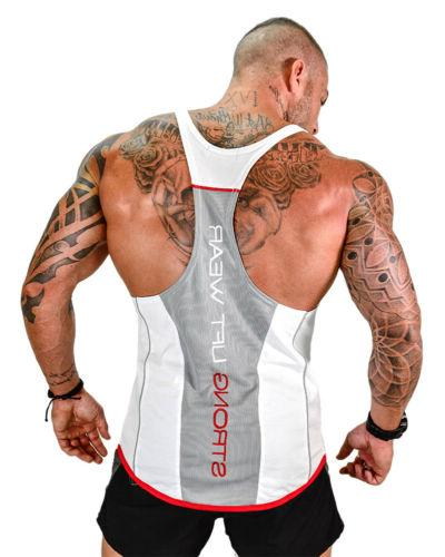 HOT!Men's Stronger Tank Top Y-Back Gym Workout