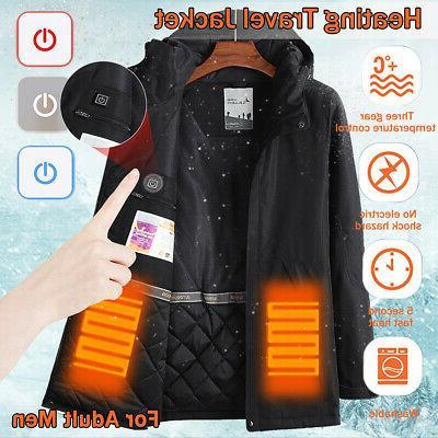 Intelligent USB Electric Coat Clothing