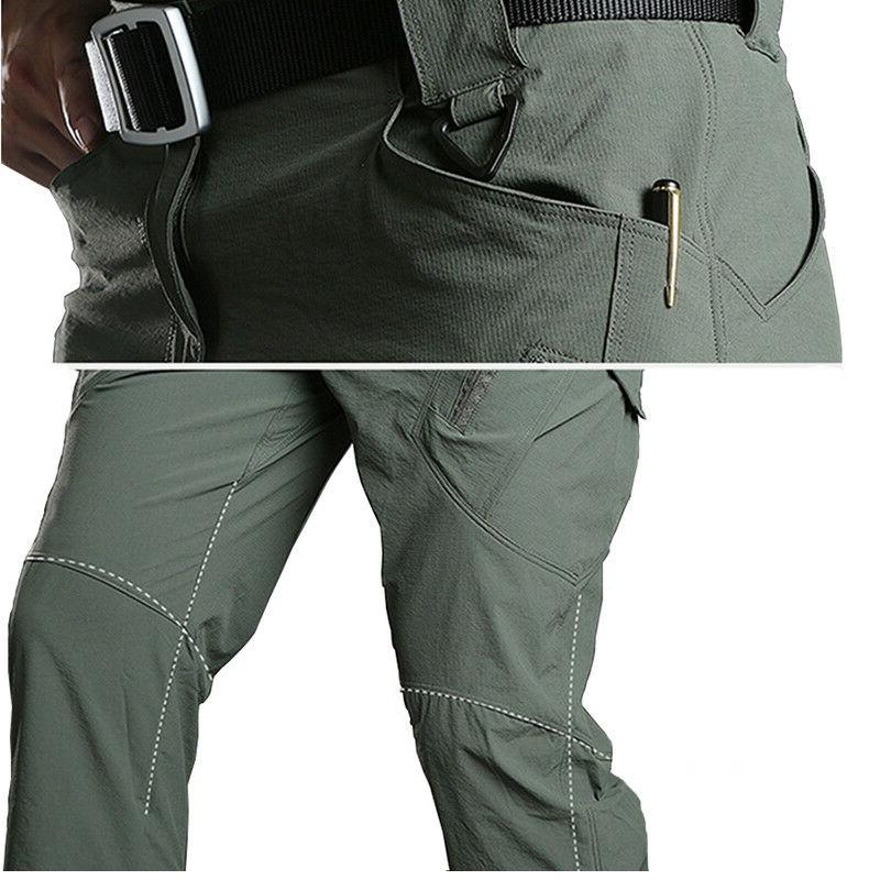 TACVASEN Quick Dry Military Workout Pants Trousers
